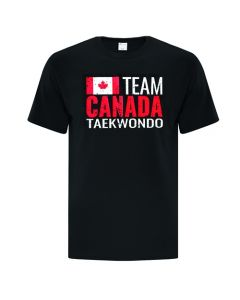 Team Canada Black T-Shirt