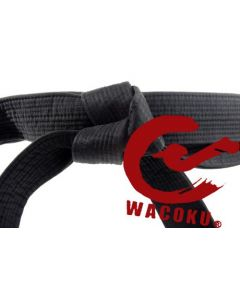 Wacoku Black Belt Cotton