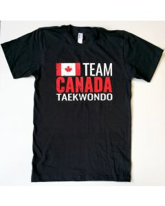 Team Canada Taekwondo T-Shirt Black