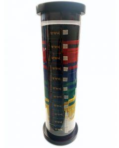 Cylinder Martial Arts Belt Display