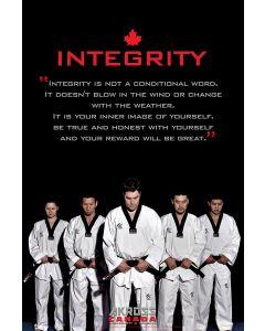 5 Tenets Of TKD Posters