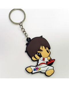 Keychain TKD Boy Poom Sidekick