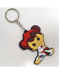 Keychain TKD Girl Cute