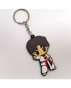 Keychain TKD Boy Poom Peace