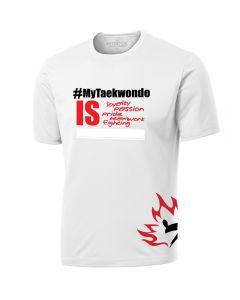 White #MyTaekwondo Mens T-Shirt