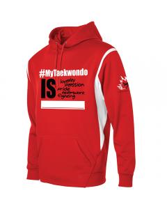 Red #MyTaekwondo Sweater