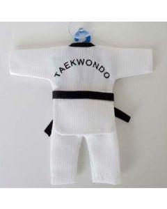 Mini Taekwondo Uniform Suction Cup