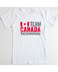 Team Canada Taekwondo T-Shirt White