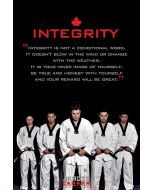 5 Tenets Of TKD Posters