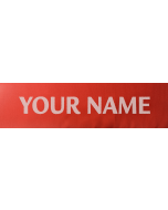 Embroidery Name Up to 15 x 5