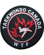 Taekwondo Canada Sew On Patch