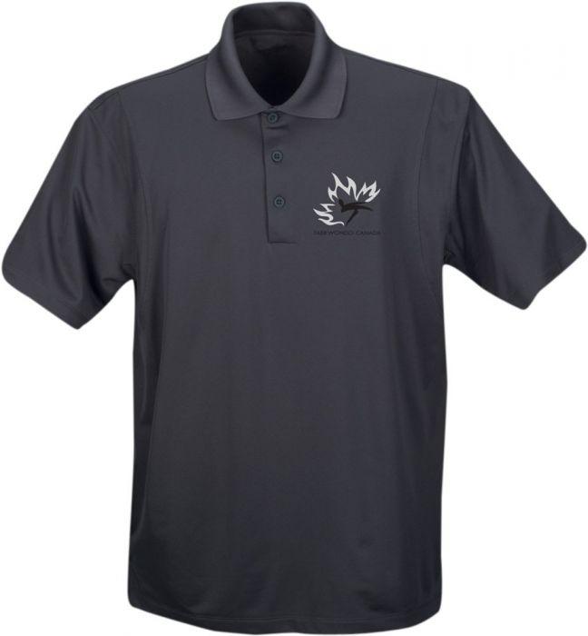 TC Golf Shirt Men Grey