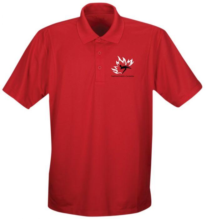 TC Golf Shirt Men Red