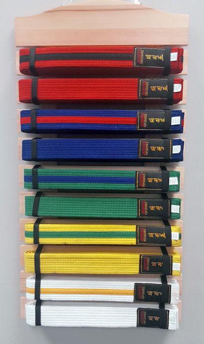 Taekwondo Belt Rack