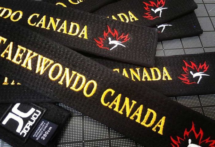 Team Canada Belt with Your Name