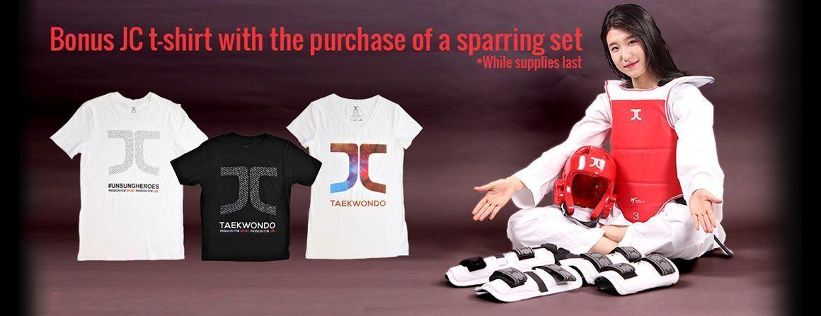 Sparring Set + Bonus T-Shirts