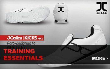 JC Training Equipment, Shoes, Track Suits, Kicking Shields, Bags